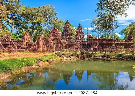 Banteay Srei Temple , Siem Reap , Cambodia
