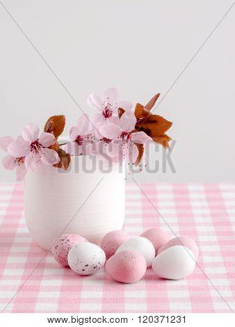 Blossom And Chocolate Mini Eggs