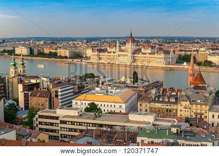 Budapest City Skyline , Hungary