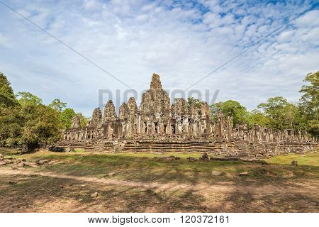 Bayon Temple , Siem Reap , Cambodia