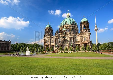 Berlin Cathedral Or Berlin Dom , Berlin , Germany