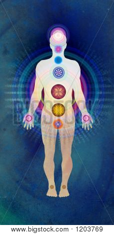 Body Chakras - Blue