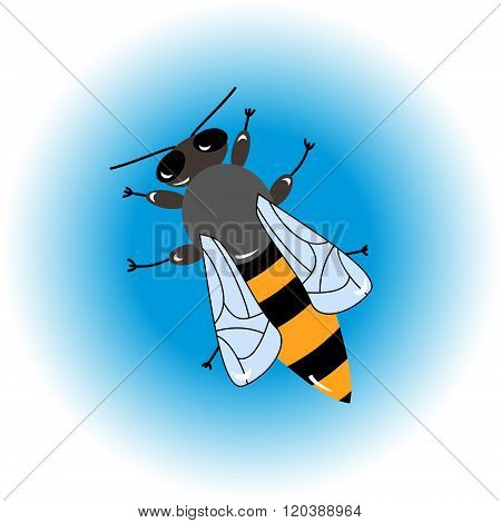 Isolated  Bee Icon