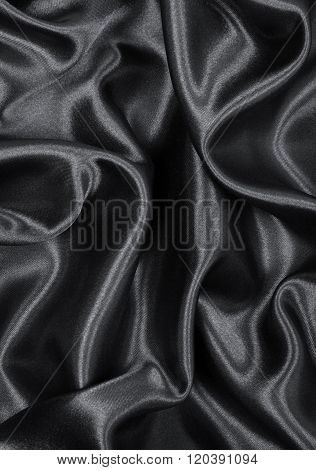 Smooth Elegant Grey Silk Or Satin As Background