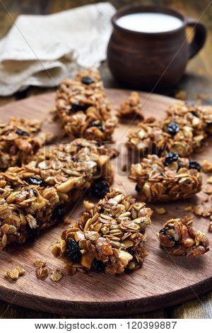 Healthy Food Muesli Bars