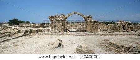 Cyprus. Paphos. Saranta Kolones.