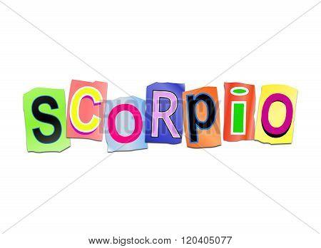 Scopio Word Concept.
