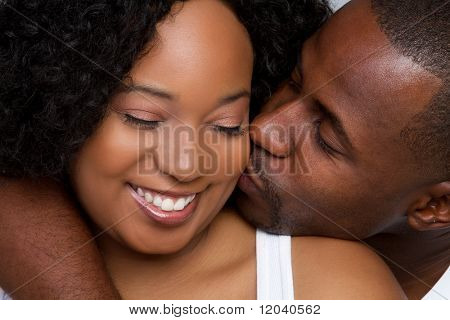 Loving Black Couple