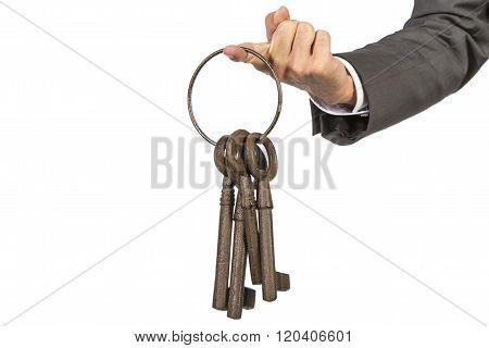Bunch Of Keys Hand