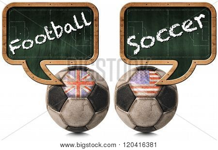 English Football And American Soccer