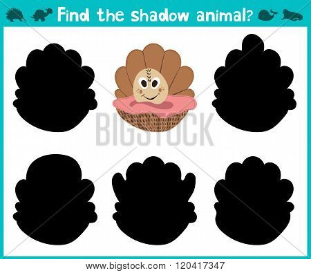 Educational Children Cartoon Game For Children Of Preschool Age. To Find The Right Shade Of Sweet Sc