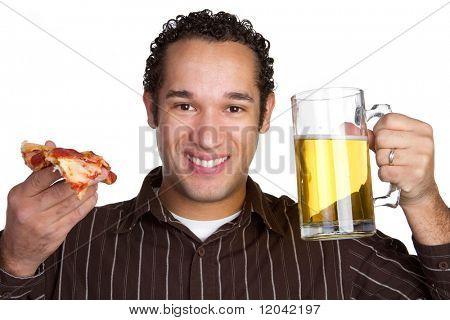 Pizza Beer Man
