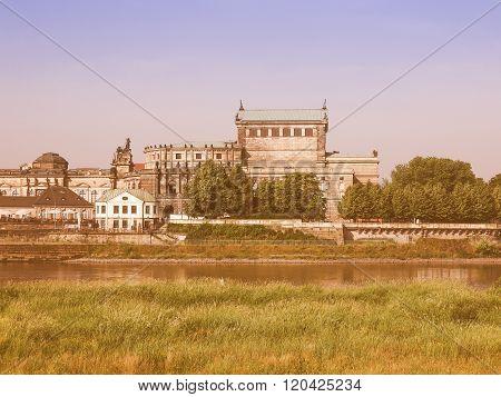 Dresden Semperoper Vintage