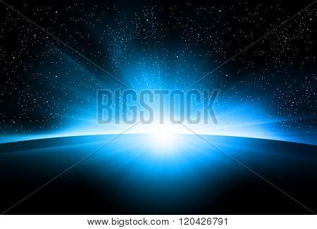 Astronomy Sunrise Easy All Editable