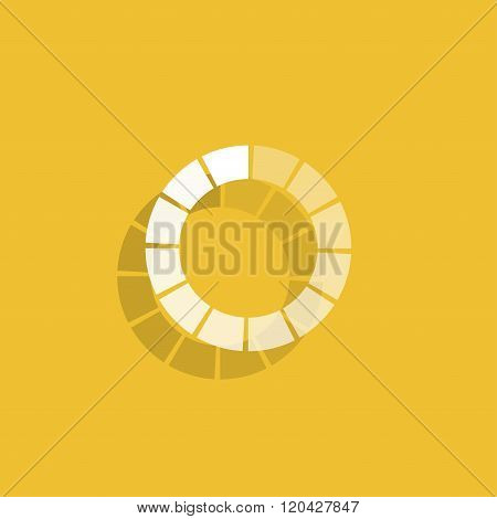 Vector Circular Loading Icon