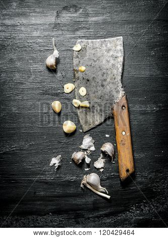 Chopped Garlic Old Hatchet.