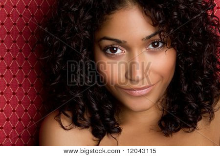 Hermosa mujer negra