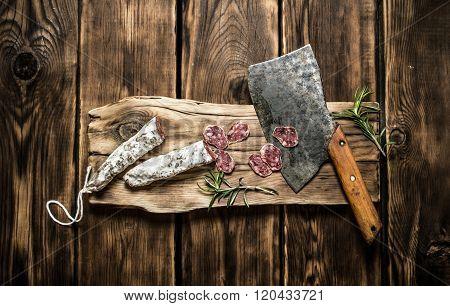 Slicing Salami The Old Hatchet.