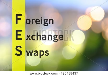 Foreign Exchange Swaps