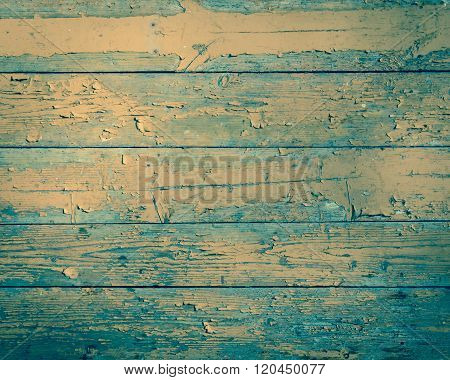 Old wooden plank background/ texture