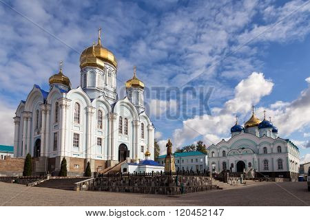 Nativity of the Virgin Monastery. Zadonsk. Russia