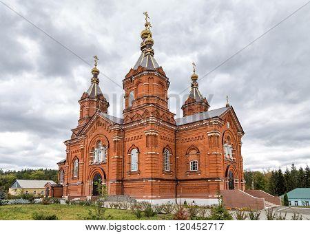 Bogoroditsky Tikhonovsky Tyuninsky monastery. Tyunino. Russia