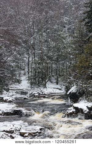 Blackwater River in Winter
