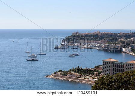 Monte Carlo Monaco City Coastline