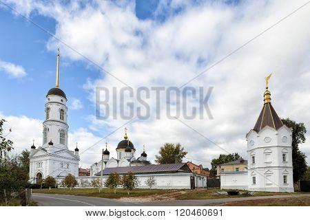 St. Tikhon Transfiguration Monastery. Zadonsk. Russia