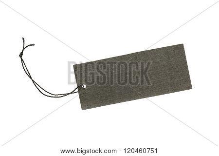 Black Color Hanging Tag
