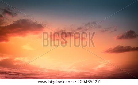 Amazing Sunset Sky
