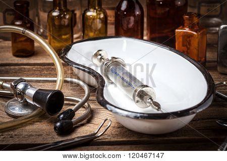 Old Medical Instruments.