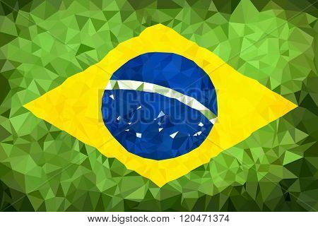 Brazill hight polly flag