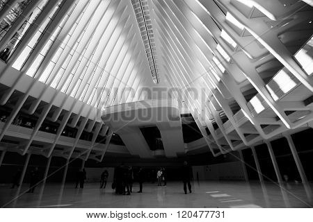 OCULUS, The World Trade Center Transportation Hub
