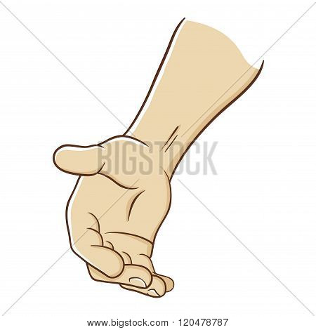 Hand Reaching Out To Offer Help
