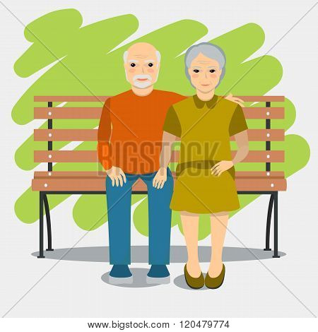 Elderly Couple And Healthy Lifestyle.