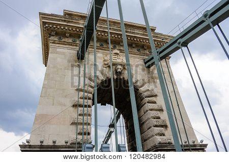 Szechenyi Chain Suspension Bridge Tower