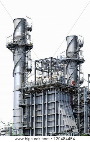 Factory Metal Pipelines Petrochemical Industry.