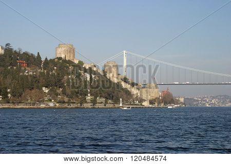 Rumelihisar? (Roumeli Hissar Castle) in Istanbul Turkey