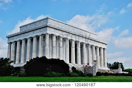 Lincoln Memorial in Washington, DC, United States