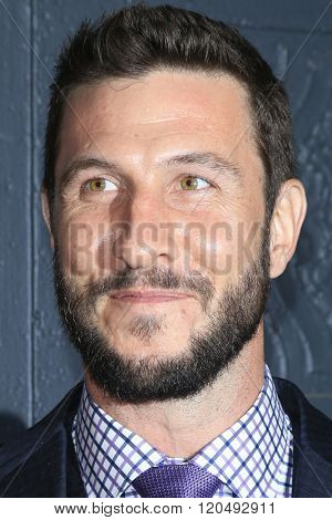 LOS ANGELES - MAR 1:  Pablo Schreiber at the Knight of Cups Premiere at the The Theatre at The ACE Hotel on March 1, 2016 in Los Angeles, CA