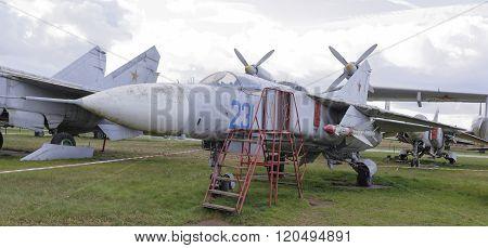 Mig-23-multipurpose Jet Fighter(1967).max.speed,km/h-2500  (snowing)