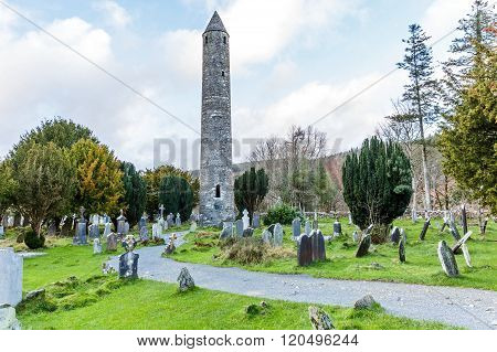 Glendalough Round Tower