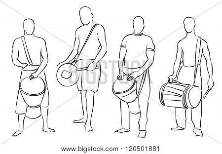 African Musician Set