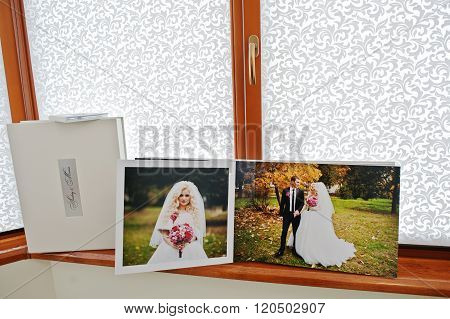 Pages With Photo Of Wedding Book And Album