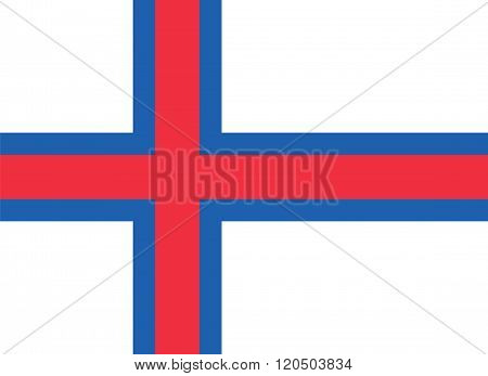 Standard Proportions For Faroe Islands Official Flag