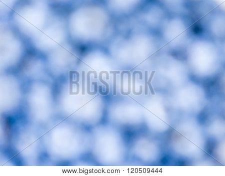 blurry of Frozen blueberries fruit background texture
