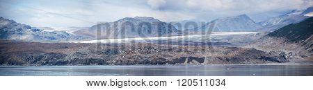 Black Glacier Panorama