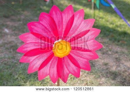 Flower Propeller Pinwheel Toy For Kid