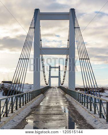 Icelandic One-lane Bridge